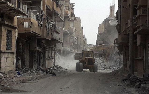 Suriyada dinc əhali bombardman edildi