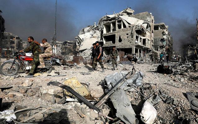 ABŞ Suriyanı yenə bombaladı