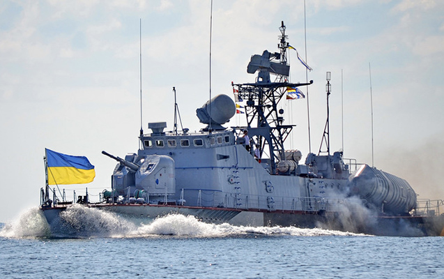 Rusiya Ukraynanın döyüş gəmisini vurdu - Poroşenko təcili toplantı çağırdı