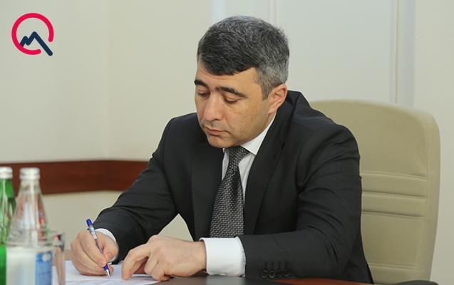 Rafail Quliyev nazirliyin aparat rəhbəri təyin edildi