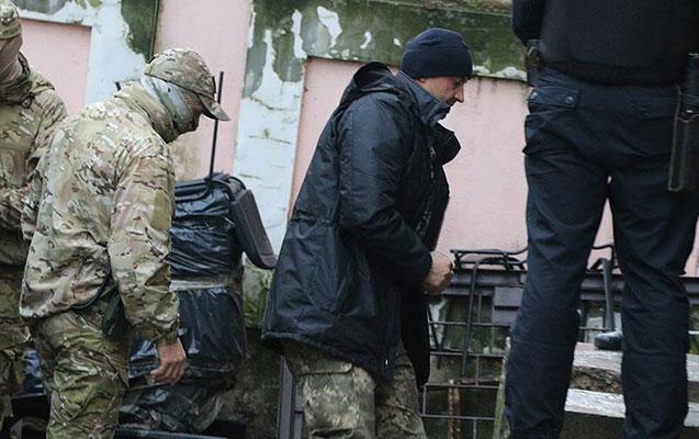 Rusiya ukraynalı dənizçiləin hamısını həbs etdi
