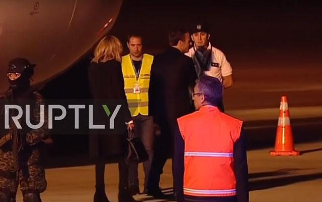 Makronu G20-də heç bir rəsmi qarşılamadı - Merkel isə Trampla görüşü ləğv etdi