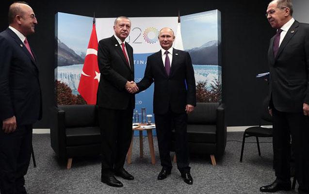 Ərdoğanla Putin G20-də görüşdü