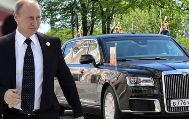Putin avtomobili ilə G20-yə damğa vurdu - Ərəblər də istəyir