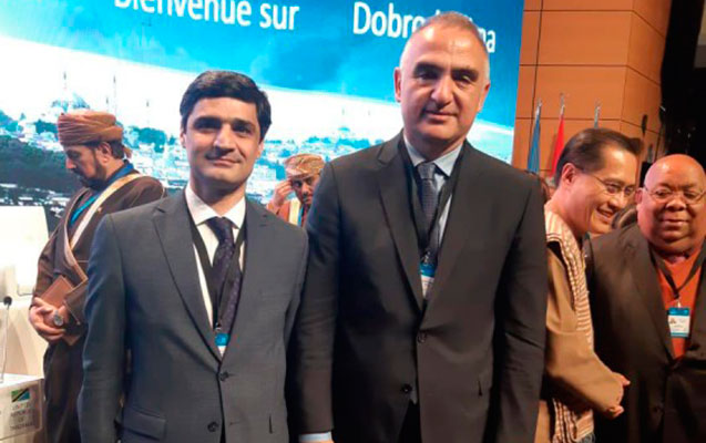 Rafiq Bayramov İstanbulda bir sıra görüşlər keçirib
