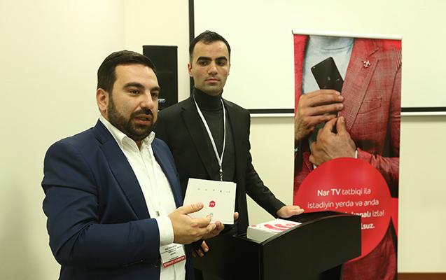 """""""Nar"""" innovativ məhsullarını təqdim etdi"""