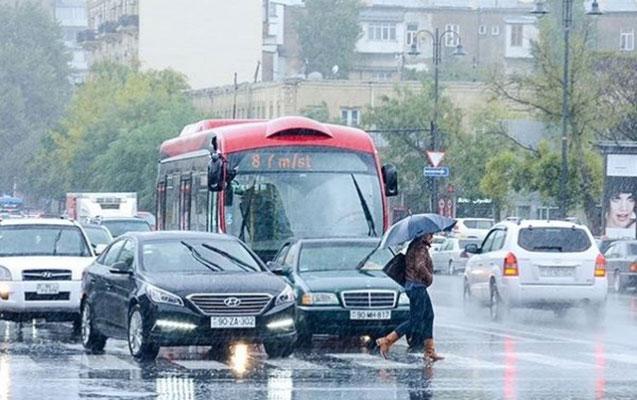 Güclü yağış yağacaq
