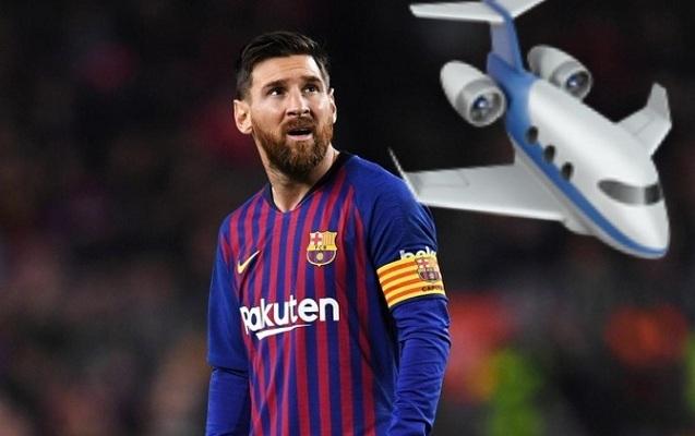 Messi 15 milyon dollara təyyarə aldı