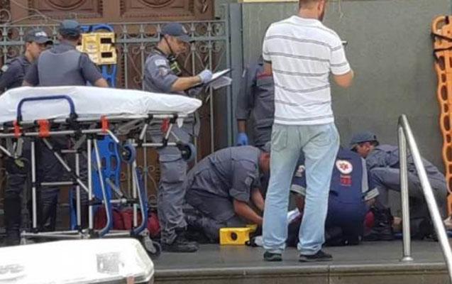 Braziliyada kilsəyə silahlı hücum