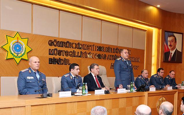 Gömrük Komitəsində Heydər Əliyevin xatirəsi yad edilib