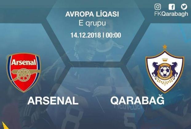 """""""Qarabağ"""" """"Arsenal""""a qarşı"""
