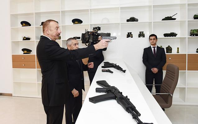 İlham Əliyev Gənclər Mərkəzinin açılışında