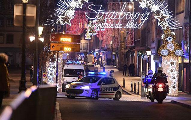 Strasburqda yenidən silah səsləri eşidildi
