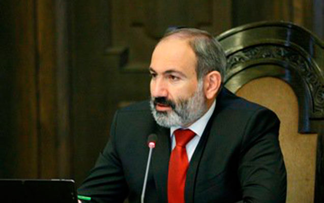 Paşinyan Qarabağdan yazdı