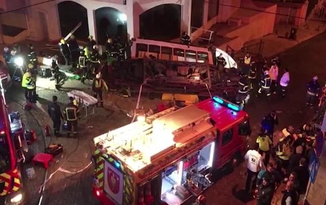 Lissabonda tramvay qəzasında 28 nəfər yaralandı