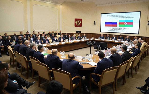 Azərbaycan-Rusiya Dövlət Komissiyasının iclası keçirilib