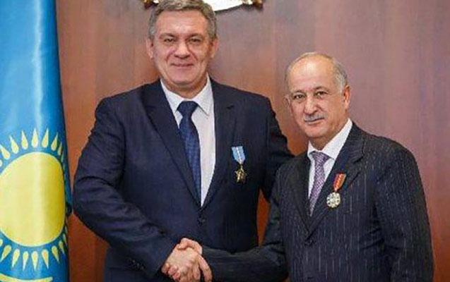 Nazarbayev 6 azərbaycanlıya medal verdi