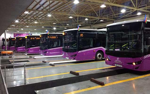 """""""Xaliq Faiqoğlu"""" Bakıya AVRO-6 standartlı yeni avtobuslar gətirdi"""
