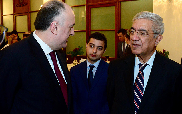 Azərbaycan diplomatları bir arada
