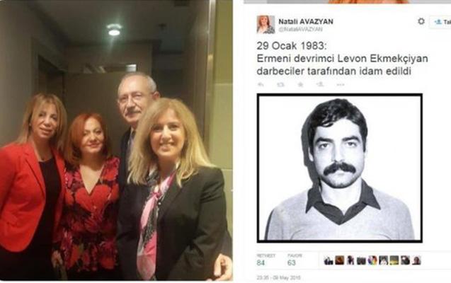 Kılıçdaroğlunun FETÖ-nü dəstəkləyən erməniylə görüşü