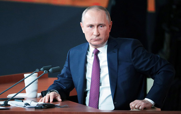 """""""Poroşenko Qara dənizdəki təxribat hesabına reytinqini qaldırdı"""" - Putin"""