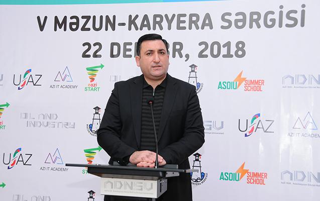 ADNSU-da Məzun-Karyera sərgisi keçirilib