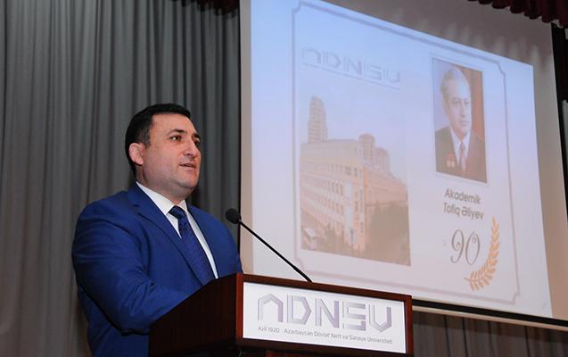 ADNSU-da Tofiq Əliyevin 90 illiyinə həsr olunan konfrans keçirilib