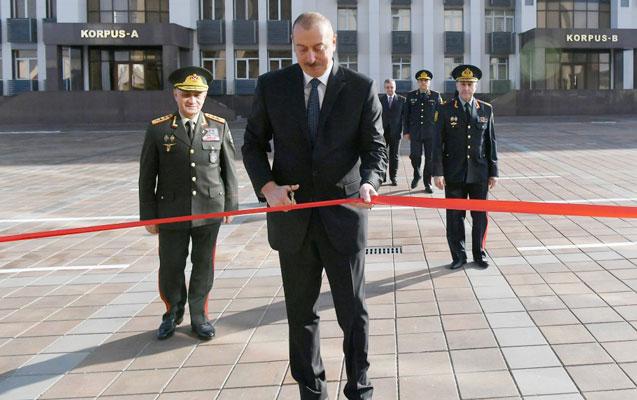 Prezident Polis Akademiyasının yeni binasının açılışında