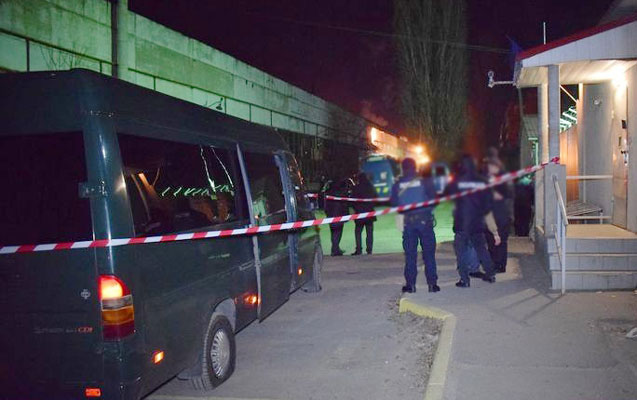 Adam öldürməkdə şübhəli bilinən şəxs avtobusda tutuldu