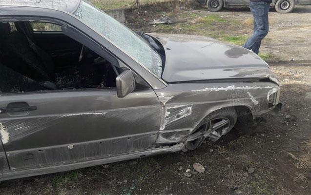 İsmayıllıda qəzada bir nəfər yaralandı