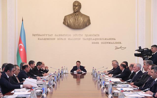 Novruz Məmmədov nazirləri bir araya yığdı