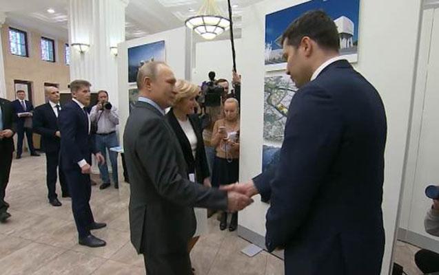 Putini Ermitaja qoymadılar