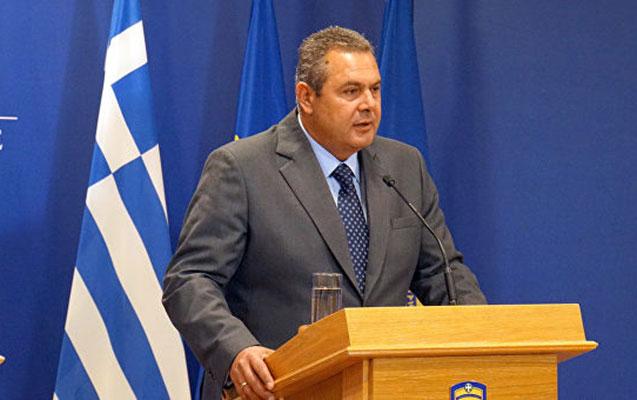 Yunanıstanın müdafiə naziri istefa verdi