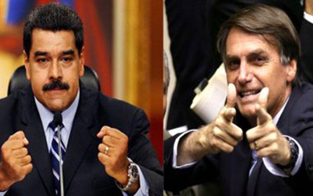 """Maduro yeni prezidenti """"Hitler"""" adlandırdı"""