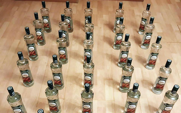 Aksizsiz spirtli içkilər aşkarlandı