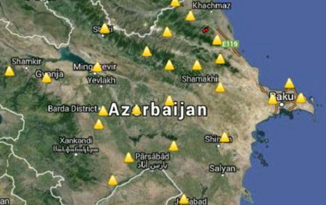 Azərbaycanda zəlzələ oldu