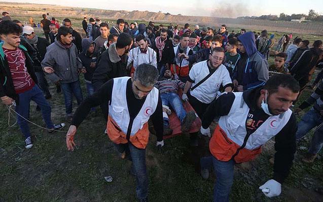 İsrail əsgərləri 30 fələstinlini yaraladı