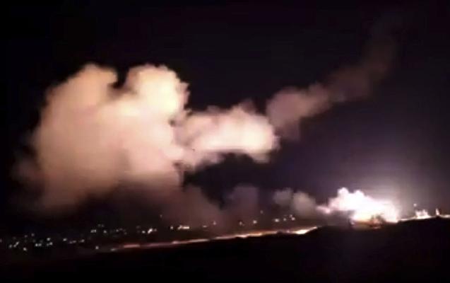 İsrail Suriyanı bombaladı