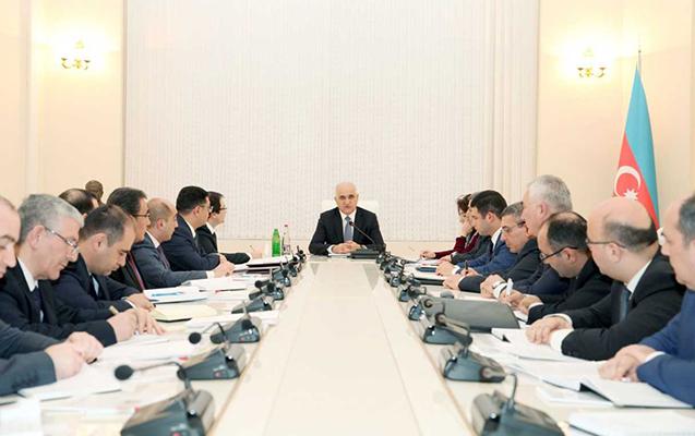 Şahin Mustafayev kollegiya iclası keçirdi