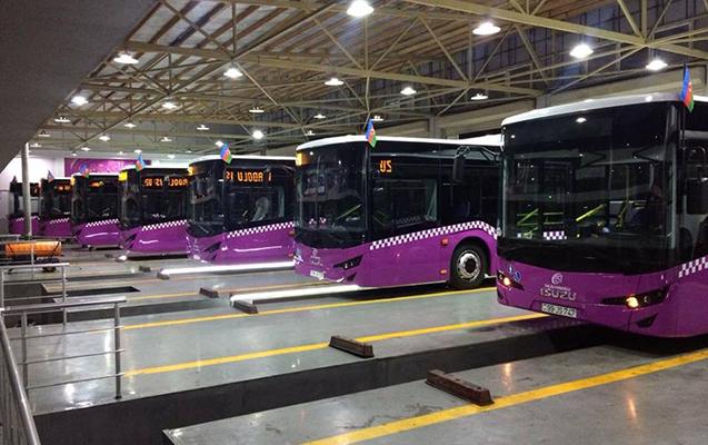 Son 3 ildə Bakıya 152 yeni avtobus gətirilib