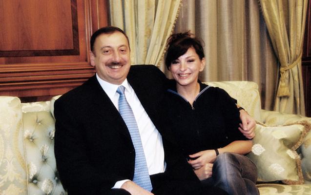 """Leyla Əliyevadan valideynlərinə təbrik - """"36 il birlikdə..."""""""