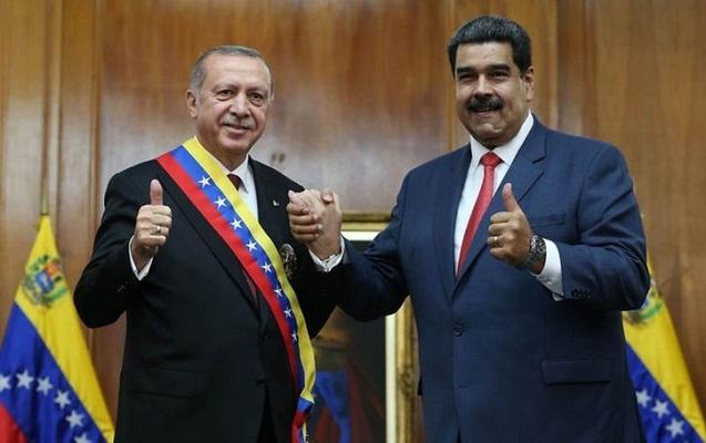 """Ərdoğandan Maduroya dəstək - """"Dik dur, yanındayıq"""""""