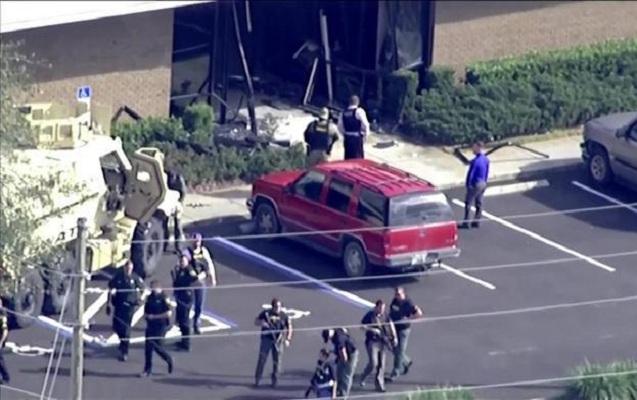 ABŞ-da banka silahlı hücum