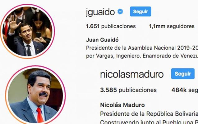 """Trampdan sonra instaqramla feysbuk da Maduronu """"tanımadı"""""""