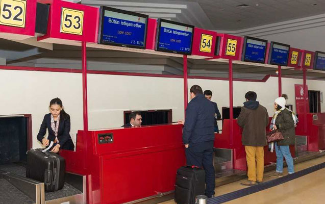 """""""Buta"""" aeroportdakı qeydiyyatın qiymətini qaldırır"""