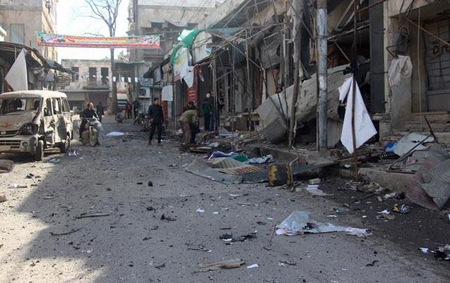İdlibdə partlayış, 15 ölü, 30 yaralı