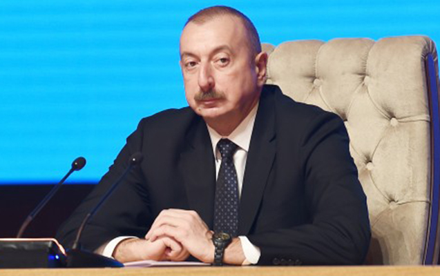 """Prezident """"Bir kəmər, bir yol"""" Forumunda"""