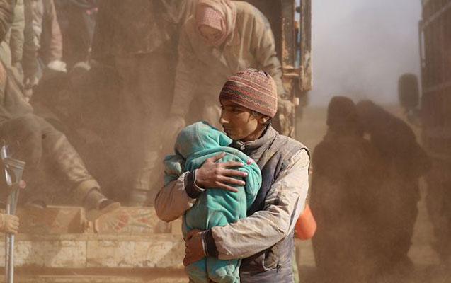 Suriyada 29 uşaq donaraq ölüb