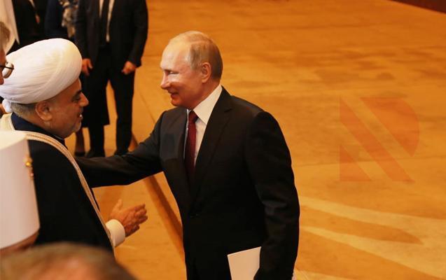 Putin Kremldə Allahşükür Paşazadə ilə görüşdü
