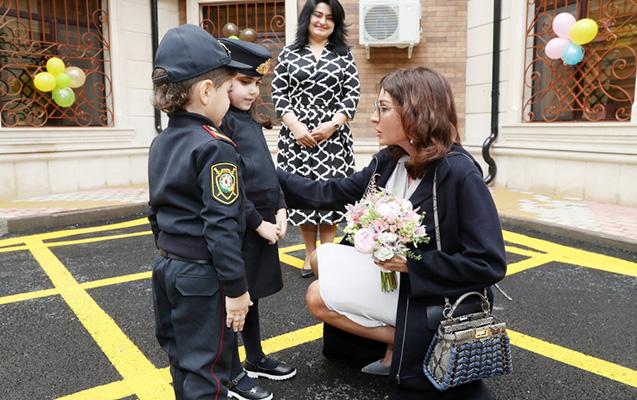 Mehriban Əliyeva uşaq bağçasının açılışında
